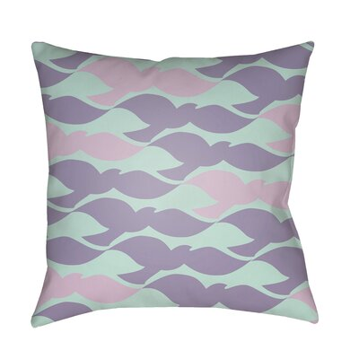 Walpole 100% Cotton Pillow Cover Color: Lavender