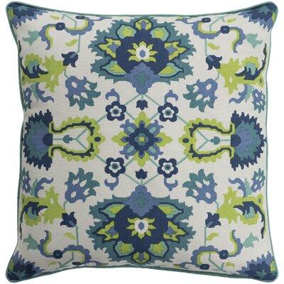 Brierwood Indoor 100% Cotton Pillow Cover Size: 18 H x 18 W x 3.5 D, Color: Bright Orange