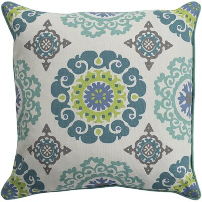 Brierwood 100% Cotton Pillow Cover Size: 18 H x 18 W, Color: Mint