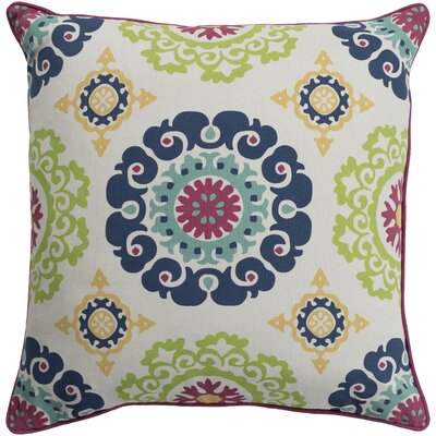 Naumann 100% Cotton Pillow Cover Size: 18