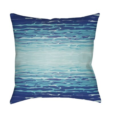 Konnor Indoor/Outdoor Throw Pillow Color: Pale Blue