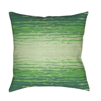 Konnor Indoor/Outdoor Throw Pillow Color: Emerald
