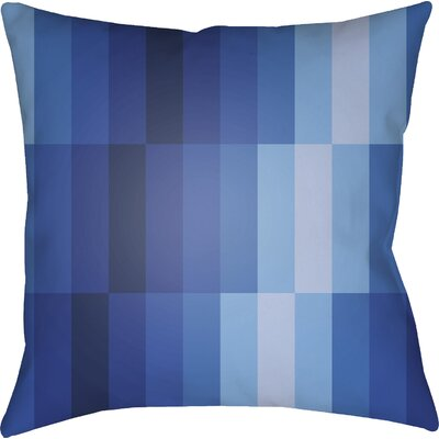 Wakefield Geometric Square Throw Pillow Color: Blue, Size: 22 H �x 22 W x 5 D
