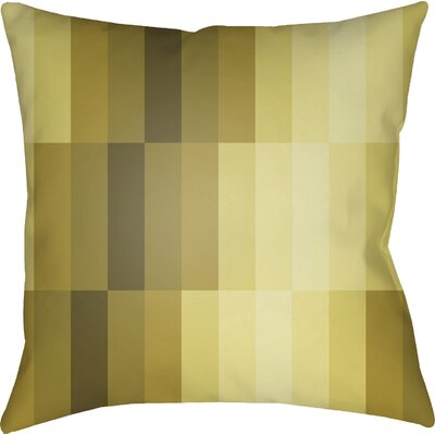 Wakefield Throw Pillow Size: 20 H x 20 W x 4 D, Color: Yellow