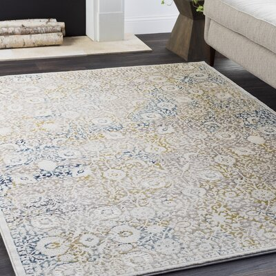 Maris Vintage Traditional Beige Area Rug Rug Size: Rectangle 710 x 103