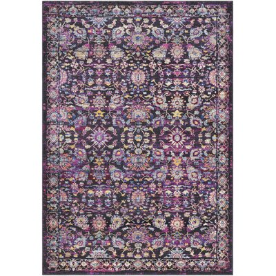 Walferdange Violet Area Rug Rug Size: Rectangle 5 x 73