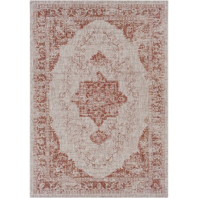 Fonwhary Burnt Orange Area Rug Rug Size: 710 x 103