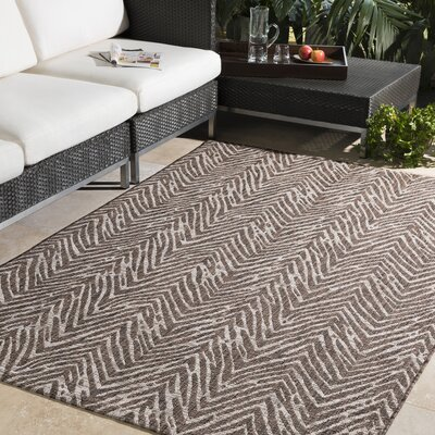 Fonwhary Camel Indoor/Outdoor Area Rug Rug Size: 710 x 103