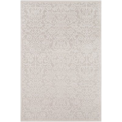 Geir Ivory Area Rug Rug Size: Rectangle 53 x 76
