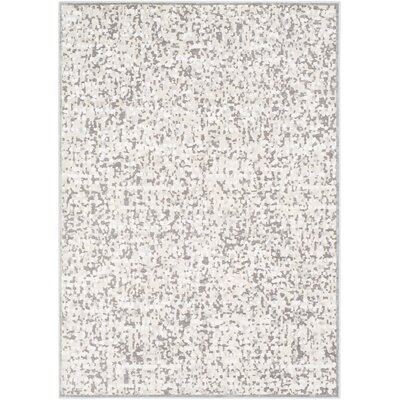 Kiara Ivory Area Rug Rug Size: Rectangle 53 x 73