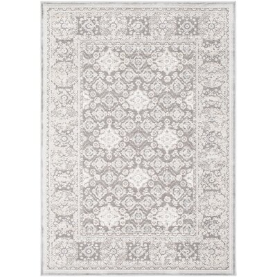 Hakon Charcoal Area Rug Rug Size: Rectangle 53 x 73