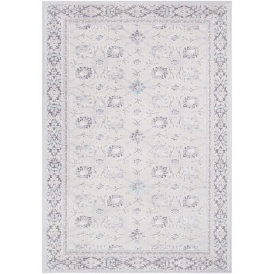 Hakon Gray Area Rug Rug Size: Rectangle 2 x 3
