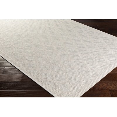 Sarang Beige Indoor/Outdoor Area Rug Rug Size: Rectangle 710 x 103