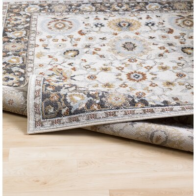 Lenora Pale Blue Indoor/Outdoor Area Rug Rug Size: Rectangle 53 x 73