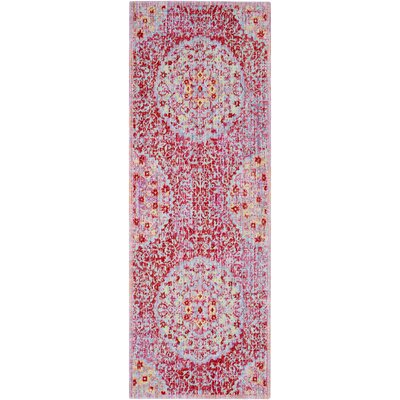 Lyngby-Taarb�k Classic Red Area Rug Rug Size: Runner 3 x 71