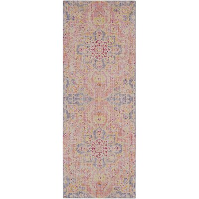 Lyngby-Taarb�k Lilac Area Rug Rug Size: Runner 3 x 71