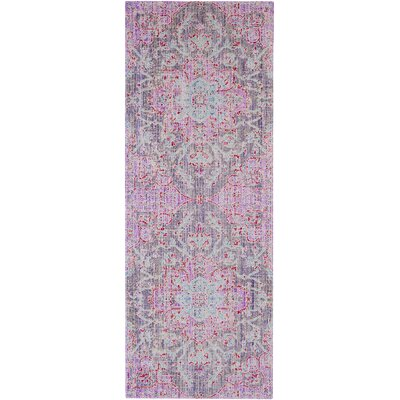 Lyngby-Taarb�k Lavender Area Rug Rug Size: Runner 3 x 71