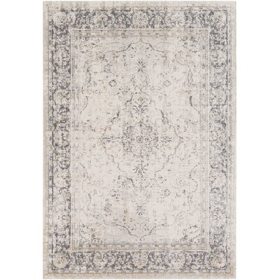 Jazzerus Classic Beige/Taupe Area Rug Rug Size: 2 x 3