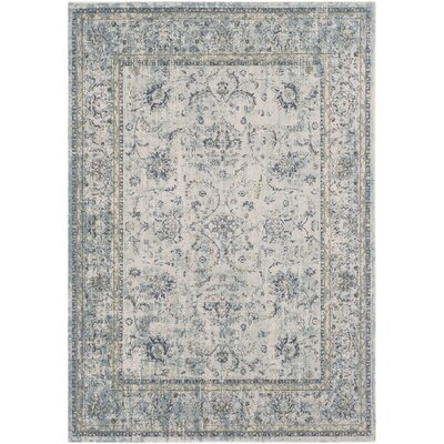 Jazzerus Sage Area Rug Rug Size: Rectangle 53 x 73
