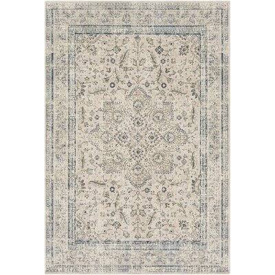 Jazzerus Taupe Area Rug Rug Size: Rectangle 2 x 3