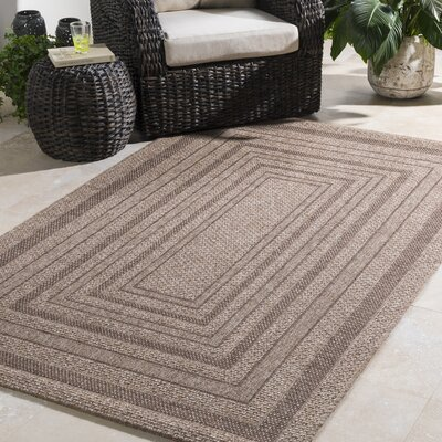 Homer Camel Indoor/Outdoor Area Rug Rug Size: Rectangle 2 x 3