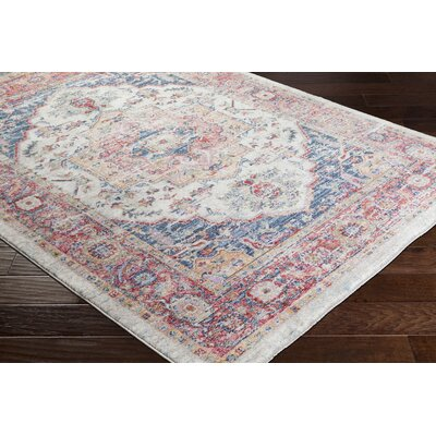 Turner Vintage Oriental Red Area Rug Rug Size: Rectangle 9 x 13