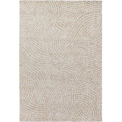 Seydou Modern Wool Camel Area Rug Rug Size: Rectangle 5 x 76