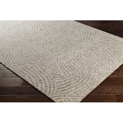 Seydou Modern Wool Camel Area Rug Rug Size: Rectangle 9 x 12