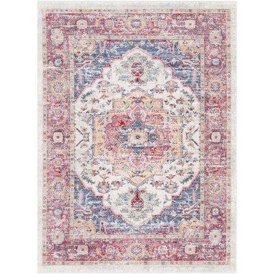 Rumi Vintage Oriental Red Area Rug