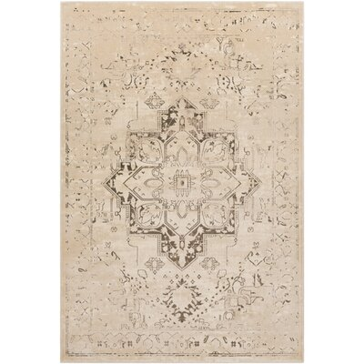 Asia Minor Camel Area Rug Rug Size: Rectangle 93 x 123