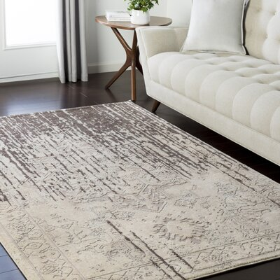 Asia Minor Camel Area Rug Rug Size: Rectangle 53 x 73