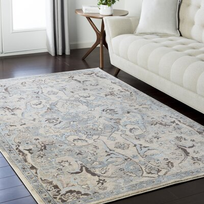 Synthia Cream Area Rug Rug Size: Rectangle 93 x 123