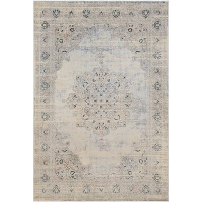 Synthia Cream Area Rug Rug Size: 2 x 3