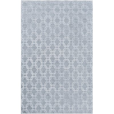 Elvira Hand Woven Ivory/Gray Area Rug Rug Size: Rectangle 9 x 13
