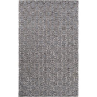 Elvira Modern Hand Woven Wool Camel Area Rug Rug Size: Rectangle 6 x 9