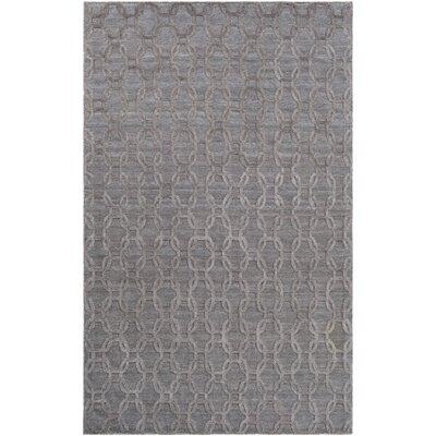Elvira Modern Hand Woven Wool Camel Area Rug Rug Size: Rectangle 2 x 3