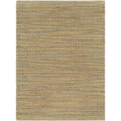 Falefa Hand Woven Beige/Lime Area Rug Rug Size: Rectangle 5 x 76