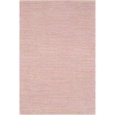 Falefa Hand Woven Pink Area Rug Rug Size: Rectangle 8 x 10