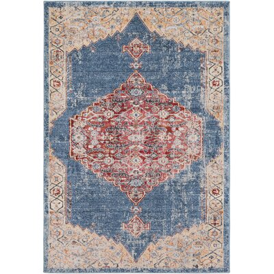 Siesta Key Camel/Rust Rug Rug Size: Rectangle 53 x 76
