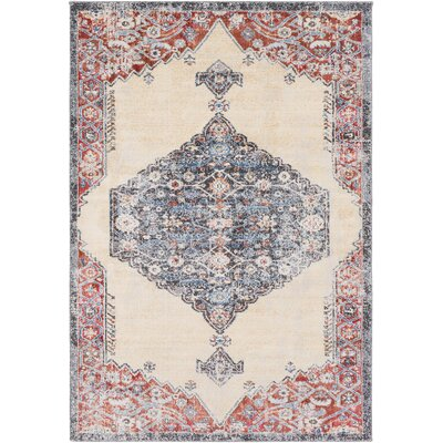 Siesta Key Camel/Rust Area Rug Rug Size: Rectangle 710 x 103