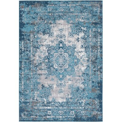 Sharpes Teal Area Rug Rug Size: Rectangle 2 x 3