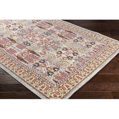 Riverbend Cream/Brown Area Rug Rug Size: Rectangle 2 x 3