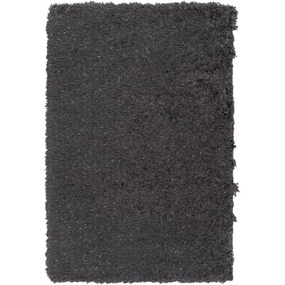 Mahesh Black Area Rug Rug Size: Rectangle 8 x 10