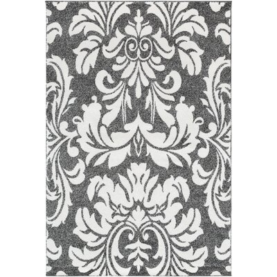 Armadillo Black/Cream Area Rug Rug Size: Rectangle 710 x 103