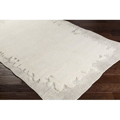 Celinda Hand Woven Wool Cream/Camel Area Rug Rug Size: Rectangle 2 x 3