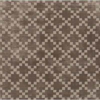 Tudor Hand Woven Brown Area Rug Rug Size: Rectangle 8 x 10
