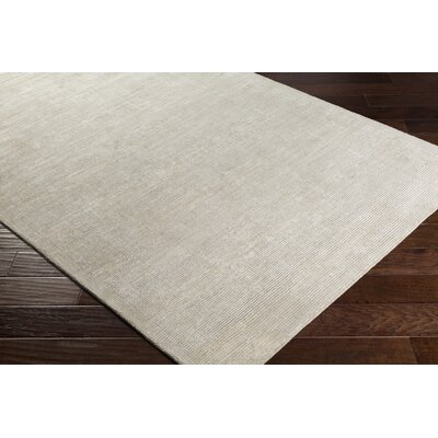 Susanna Hand Woven Khaki Area Rug Rug Size: Rectangle 4 x 6