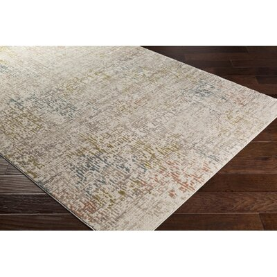 Holmes Distressed Lime Area Rug Rug Size: Rectangle 710 x 103