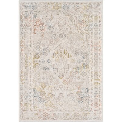Holmes Vintage Floral Lime Area Rug Rug Size: Rectangle 2 x 3