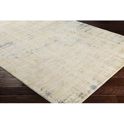 Holmes Distressed Navy Area Rug Rug Size: Rectangle 53 x 76